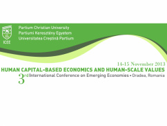 Human capital-based economics and human-scale values