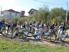 Erasmus bike day October 2014